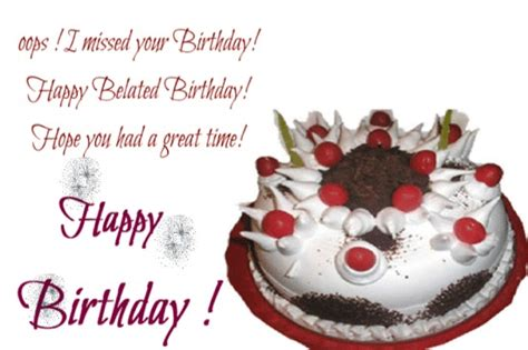 belated birthday glitters images page