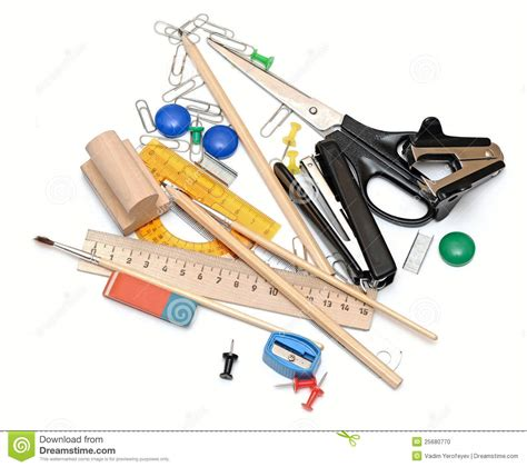 tool headquarters office tools stock photo image of supplies tacker equipment 25680770