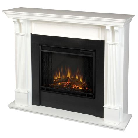 Home Hardware Fireplaces by Real 48 In Electric Fireplace In White 7100e