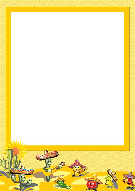 Free Stationery Com Template Downloads Cinco De Mayo Template