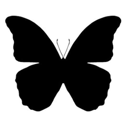 imagenes de mariposas negras grandes siluetas negras animales para recortar