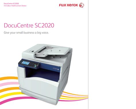 Printer Multifungsi Xerox mesin fotocopy warna colour a3 multifungsi murah xerox
