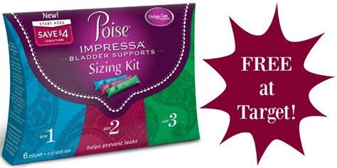 How To Use Target E Gift Card - free poise impressa sizing kit overage at target addictedtosaving com