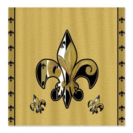 fleur de lis shower curtain fleur de lis shower curtain shower curtains pinterest