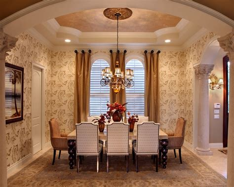 Formal Dining Room Drapes Formal Dining Room I Like The Curtains Home Design Pinterest