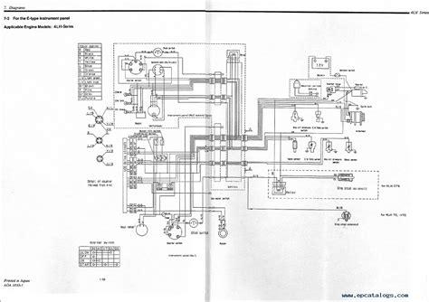 yanmar panel wiring diagram yanmar voltage