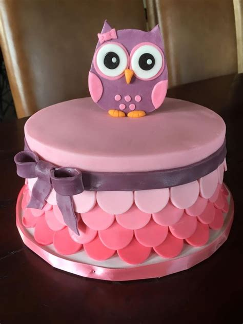 Baby Owl Shower by Owl Baby Shower Cake Cakecentral