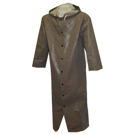 Olive Overall Inner by Magnaprene Coat Olive Drab 48 Fly Front Attached