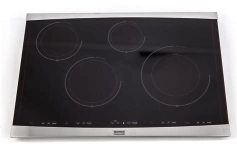 induction cooker glass repair kenmore elite cooktop induction stove model 79042800500 touch 318330700 ebay