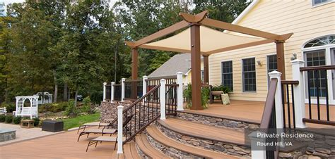 Garage Planning by Low Maintenance Engineered Pergola Kits By Trex