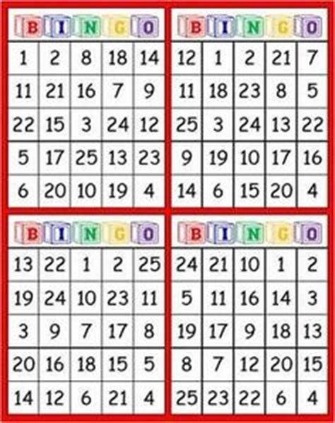 printable number bingo cards 1 30 free number bingo for numbers 1 30 see best ideas about