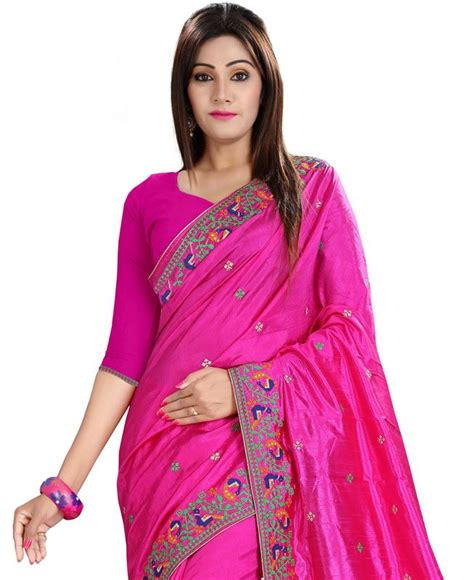 rani pink colour buy superb rani pink silk saree aprl1894 at 114 66 fjd