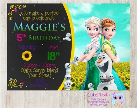 Promo Legging Printing Frozen Fever frozen fever invitation click to see details use coupon code pin15 to get 15 cutepixels