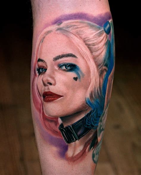 harlequin tattoo 60 harley quinn ideas bring out your