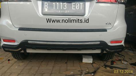 Tanduk Pengaman Belakang Bemper Datsun Go pengaman bumper belakang nempel list ertiga new 2016 no limits