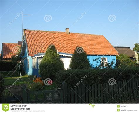 cozy little house cozy little house in the village stock photo image 48008713