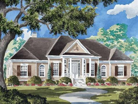 southern colonial house plans eplans colonial house plan harrison place from the