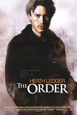 the exorcist film order the order 2003 film wikipedia