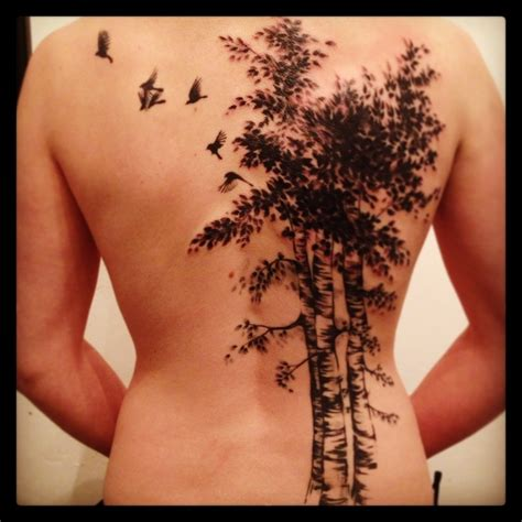 ash tree tattoo oak tree tattoos