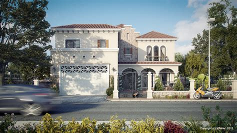 Neo Classical Homes tuscan villa picture of the day