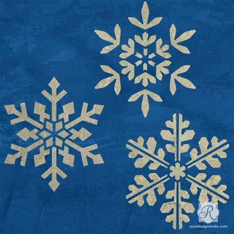 snowflake stencils for windows snowflake floral tile furniture craft stencils decor royal design studio stencils