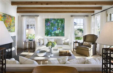 Nantucket Living Room by Spotted From The S Nest House Tour Nantucket