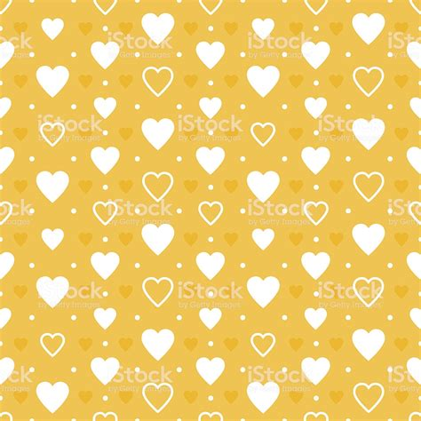 Yellow Hearts Background Stock Vector Art & More Images of ... Yellow Hearts Wallpaper
