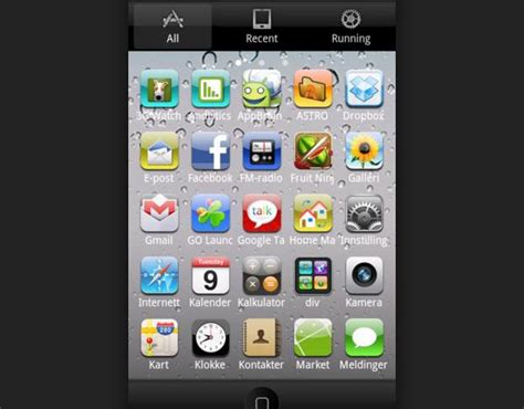 themes for android without launcher top 5 iphone themes for android free download