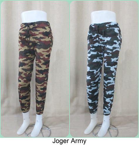 Celana Joger Loreng Army grosiran celana joger army dewasa termurah hanya 22ribu