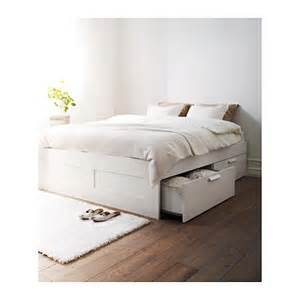 Brimnes Bed Frame With Storage And Headboard Brimnes Bed Frame With Storage White Ikea