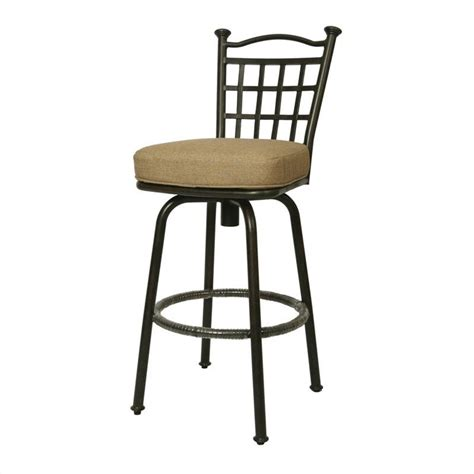 out door bar stools bay point 30 quot outdoor swivel bar stool qlbp233239905