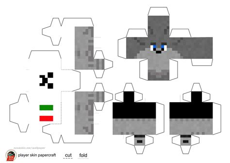 the gallery for gt papercraft minecraft boy skins