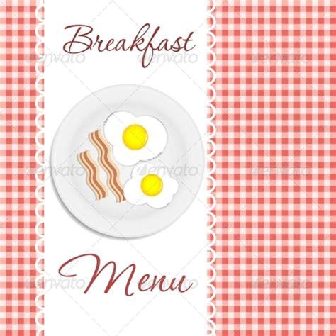 20 Sle Breakfast Menu Templates Sle Templates Breakfast Menu Template Free