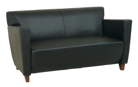 office furniture loveseat ofd office furniture leather loveseat ofd sl8472