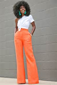 The Style Pantry by Style Pantry One Shoulder Cotton Top High Waist Trousers