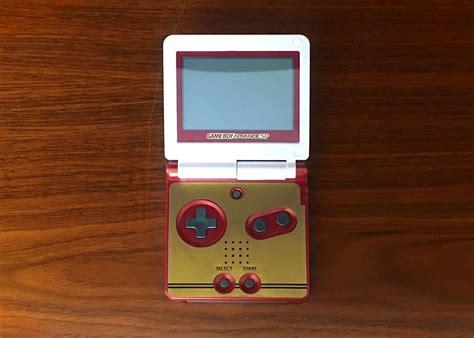 Gameboy Advance Sp By Kenz Shop boy advance sp famicom club nintendo edition skin