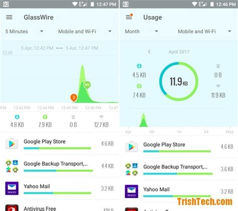 firewall for android glasswire firewall app for android devices