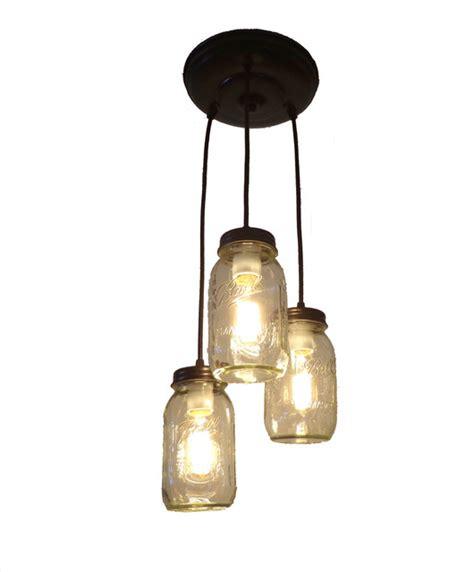 jar pendant lighting jar chandelier pendant with new quart jars