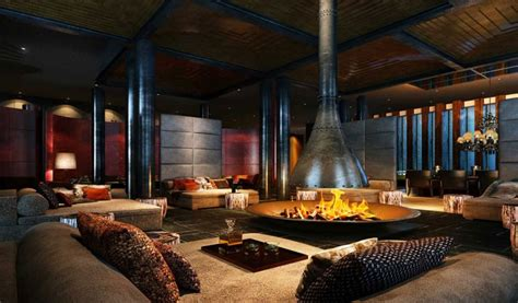 Fireplace Resturant by Hotels The Chedi Riviera