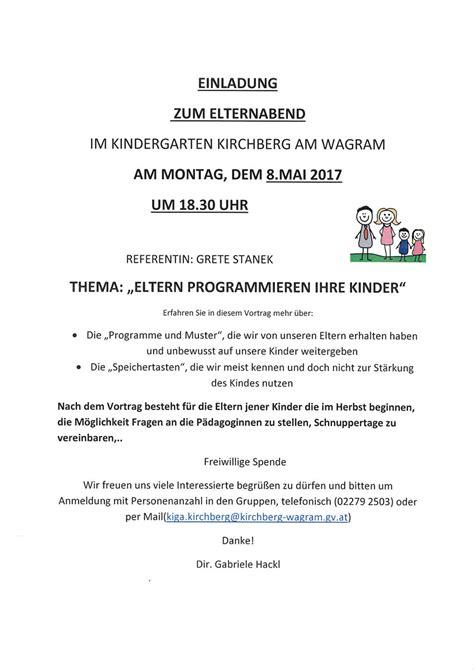 Musterbrief Einladung Weihnachtsfeier Kindergarten St Josef Elternabend Protokoll Einladung Zum Informationsabend Weiterfhrende