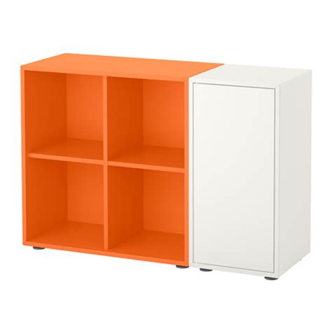 Besta Und Eket by Eket Schrankkombination F 252 223 E Wei 223 Orange Ikea