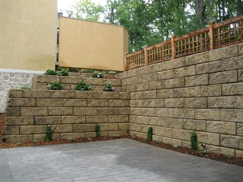 decorative concrete block retaining wall unbelievable retaining wall blocks design dapoffice