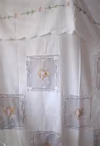 shabby chic vintage stunning shower curtain