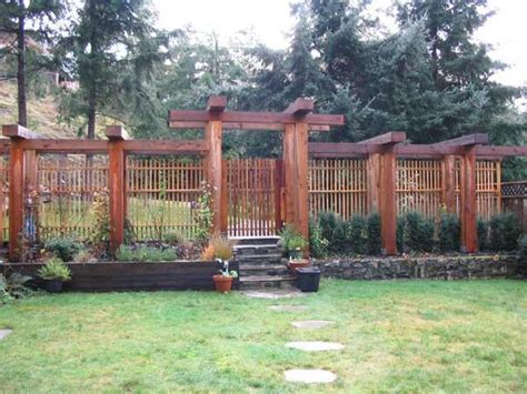 17 Best Images About Outside Fences Edges On Pinterest Fence Pergola Designs