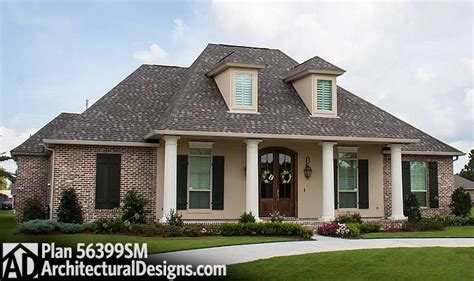 french acadian style house plans plan 56399sm 4 bed acadian house plan with bonus room acadian house plans bonus rooms and pantry