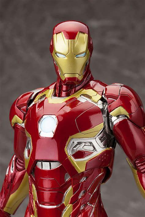 iron man marvel studios marvel studios presents iron man mark 45 artfx statue