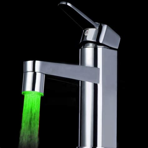 Led Light Faucet by 7 Color Led Faucet Light Review Led Lighting Lights