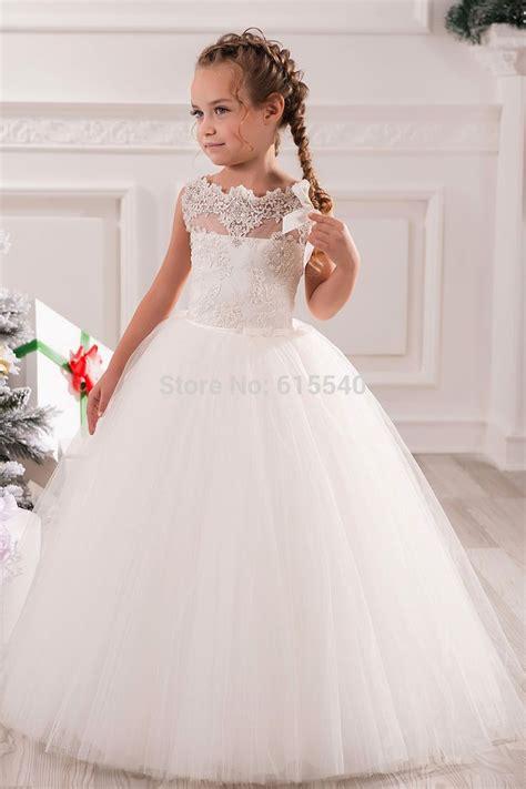 Dress Anak White Print Flower Pinkrsby 1384 17 best images about wedding flower on wedding flower dresses