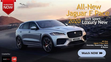 All New Jaguar 2020 by The 2020 Jaguar F Pace All New Suv Luxury Sport Car