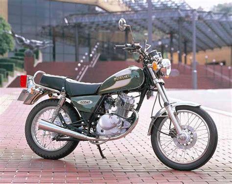 Suzuki Gn 125 Top Speed Suzuki Gn125 1994 2001 Review Mcn